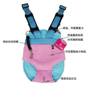 Сумка-переноска для животных ПЭТ Рюкзак плечо рука ребенок кенгуру мать серии мягкой кожи рюкзак розовый