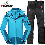 emergency underwear fly allison outdoor clothing female genuine piece suit warm windproof waterproof mountaineering ski suits