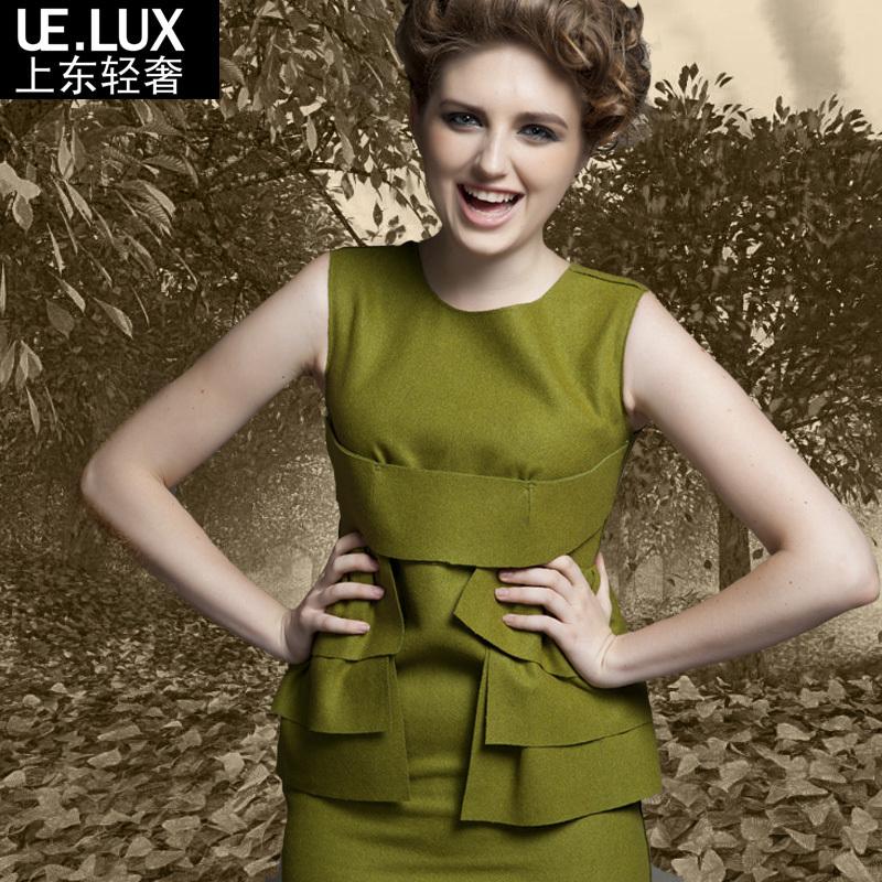 Женское платье Ue. lux 00948 Осень 2012 Шерсть