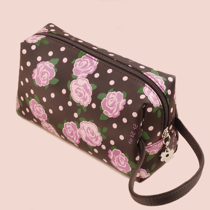 OCS Version of the new cosmetic bag hand bag ladies canvas handbags ladies fist mobile phone wallet
