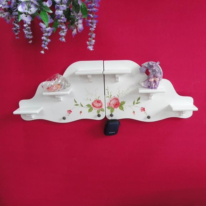 韩式田园风格壁挂 性创意家具多功能装修壁挂饰品挂件梯型壁挂