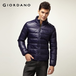 2012 Giordano men's jacket qingnuan collar Teflon down jacket 01071521