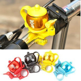 Special flat bicycle bell bicycle teapot bell aluminum horn ring crisp  riding equipment, accessories