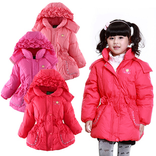 $ 88 off season special offer package mail girl snowman authentic Delta short down jacket down jacket for children  Sun 17#