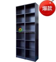 简约时尚独立书柜定制组合 6层2米高书架30cm深80cm宽
