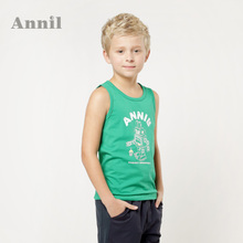 Counters authentic Annil Ann and 2014 summer institute of animated cartoon vest male EB422036