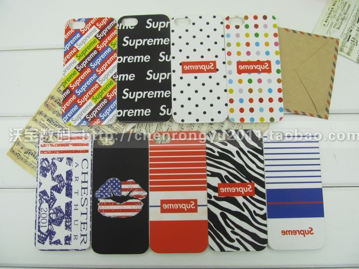 Apple чехол Supreme shell Iphone5 Supreme Supreme shell Пластик