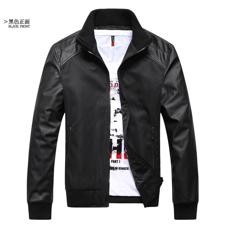 Куртка One where the men bo20129 Спандекс Искусственное волокно Бейсбольный стиль воротника