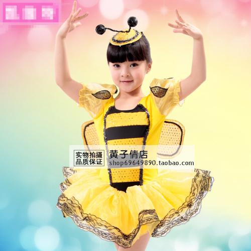 幼儿舞台剧剧本_幼儿小蜜蜂演出动物服装 儿童卡通表演服装 大黄蜂舞台造型服特价
