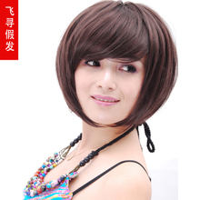 Non-mainstream brand wigs wig hair fluffy fly found BOBO round face head fatao fluffy