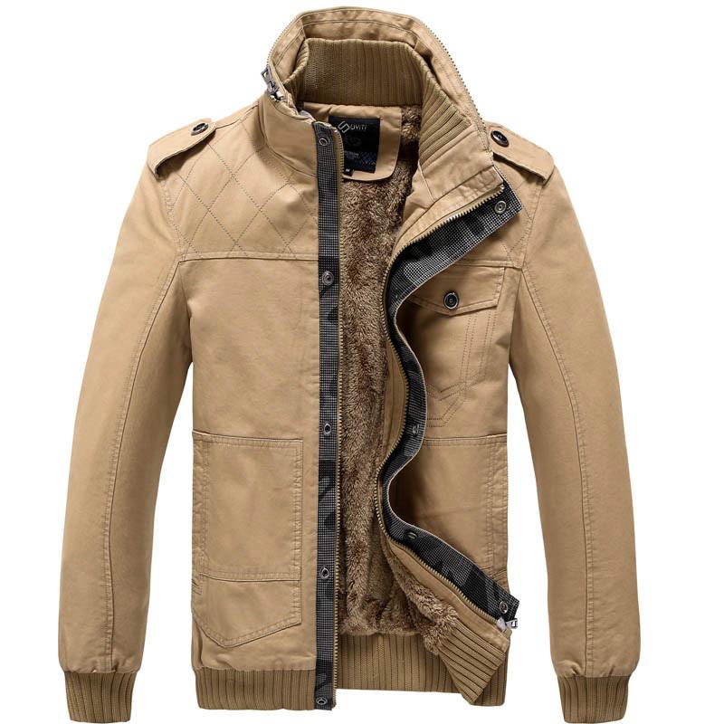 非潮流前线海澜之家夹克男装新款男士外套 加厚保暖休闲时尚夹克
