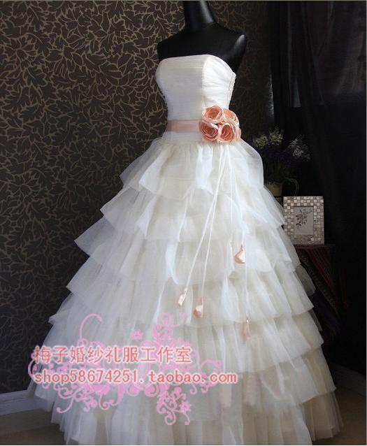 Свадебное платье 149 2011 Сетка Принцесса с кринолином Милый