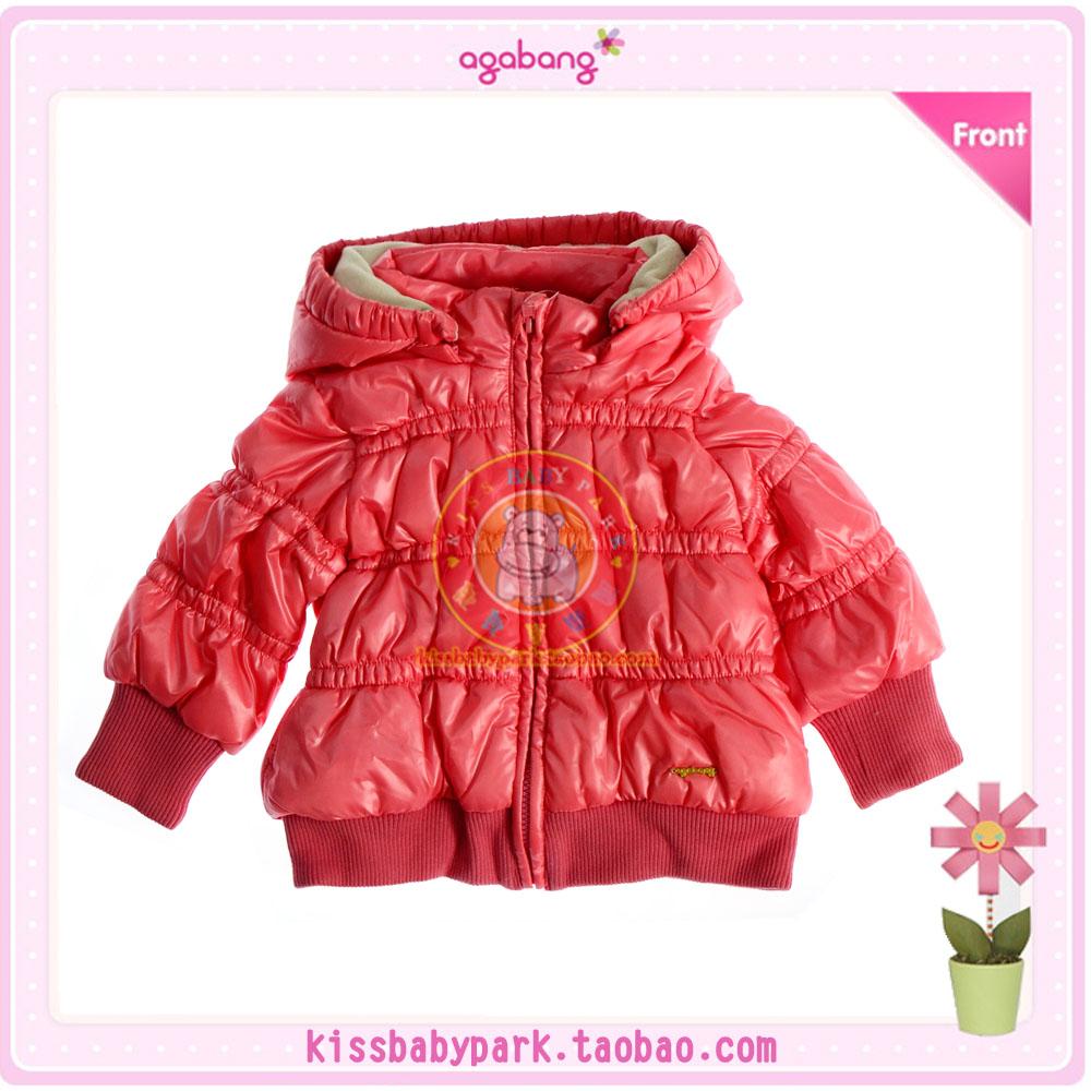 阿卡邦韩国agabang童装 女童冬季棉服 可爱保暖 百搭 原价555
