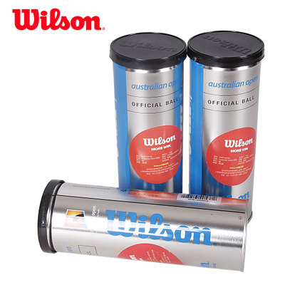 2 barrel shipping genuine Wilson Wilson tennis ball cans designated Australian Open tournament dedicated