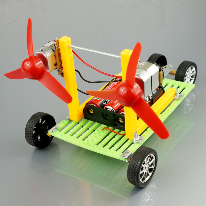 Handmade Toy Car Holder : 科技空气动力车diy小制作小发明双翼风力车益智拼装优惠价 元 diy小制作小发明双精心为您挑选 麦尔网购导航 网购宝