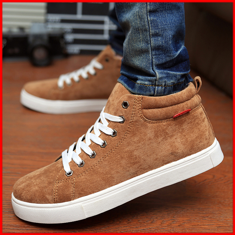 Ботинки мужские Aoxiusi jq106 Men Sneakers High Tide To Help British Leisure Men's Shoes