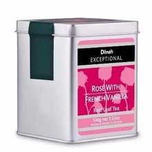Sri Lanka imports Dilmah dilma rose vanilla tea cans package mail 2 cans of many provinces