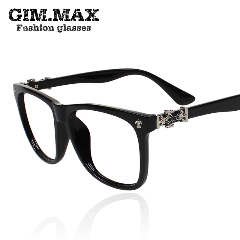 f5a4b9d372c Retro large-framed glasses frame influx of people of non- mainstream  personality black-. Loading zoom