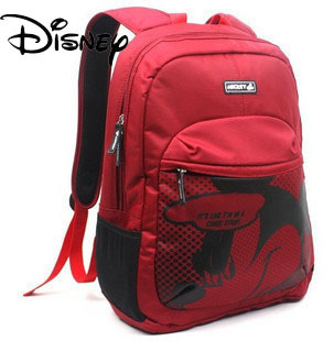 Disney Disney Mickey 14 inch Backpack Laptop bag computer bag DNC101170 (Color classification:The black pen feeding capacitor) (Laptop bag size:14 inch)