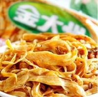 特价 四川特产 金大洲即食香辣金针菇60g 金大州金针菇红油香辣