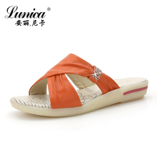 Year presses Lynx 2013 new fashion sandals mom Pippin with the end of summer slip pregnant women sandals shoes