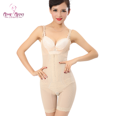 summer thin section thin clothing piece Seamless breathable stretch abdomen fat burning body sculpting underwear