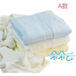 [Flowers] bath towel of bamboo fiber thickening increased child/infant bath towel antibacterial PS-28