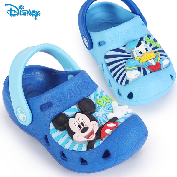 Hole shoes baby toddler sandals flash boys 1-3 years old Disney slippers 2014 summer sandals and young children