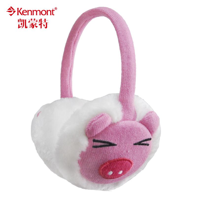 Меховые наушники детские Kenmont 6962