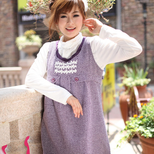 Yi Xiuge maternity dresses new Korean women spring clothing dress fashion tape cover 112,218
