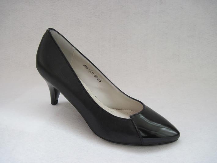 专柜正品 森达女鞋 中跟 正装 浅口 女单鞋 职场必备 cwj46 清仓图片