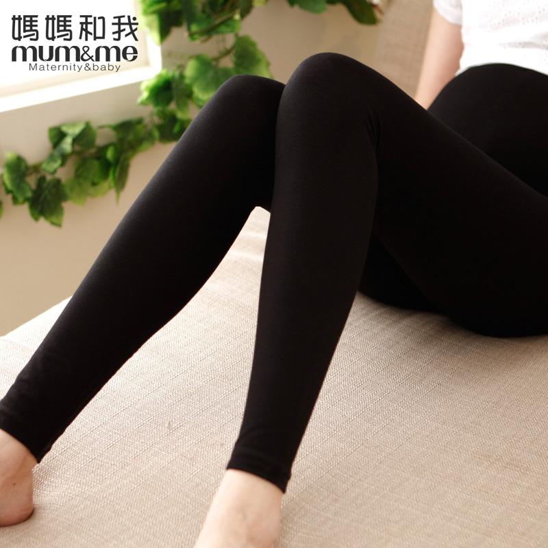 孕妇打底裤 孕妇装秋装怀孕裤子纯棉 韩版时尚孕妇裤子长裤托腹裤