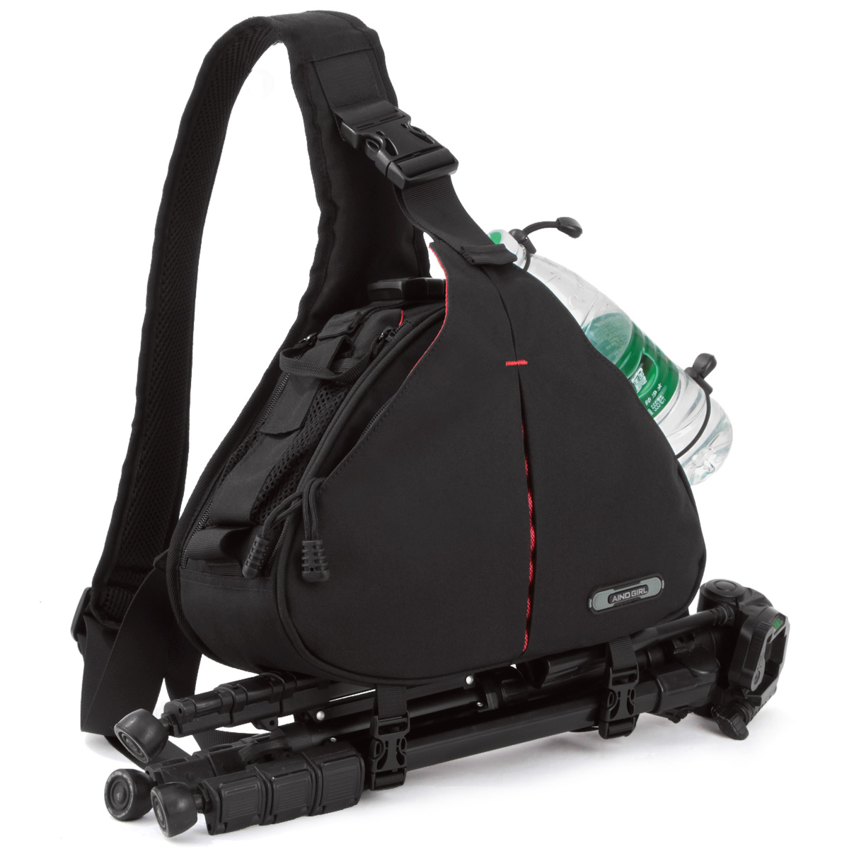 安诺格尔摄像包 d90 600d单反相机包/数码斜挎单肩摄影包三角包袋