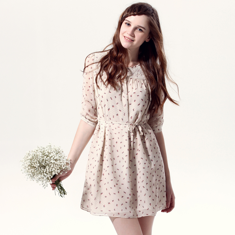 summer floral dress with sleeves wwwpixsharkcom