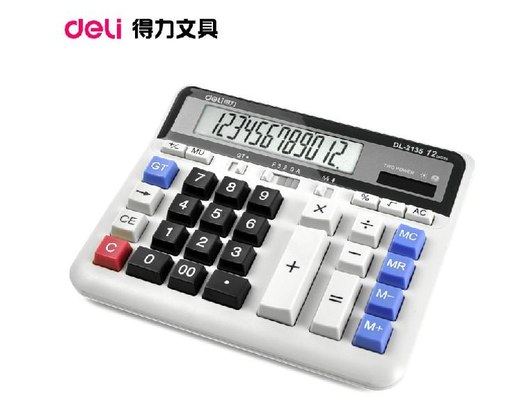Калькулятор Deli  DL
