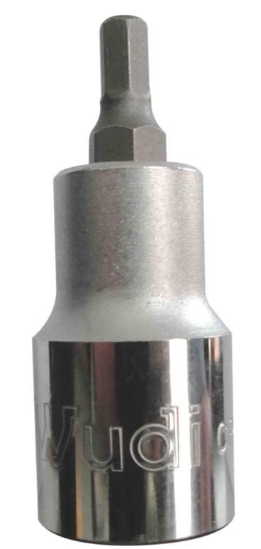 进口 S2(55MM) 12.5MM六角头旋具套筒 六角套筒头套筒扳手套装