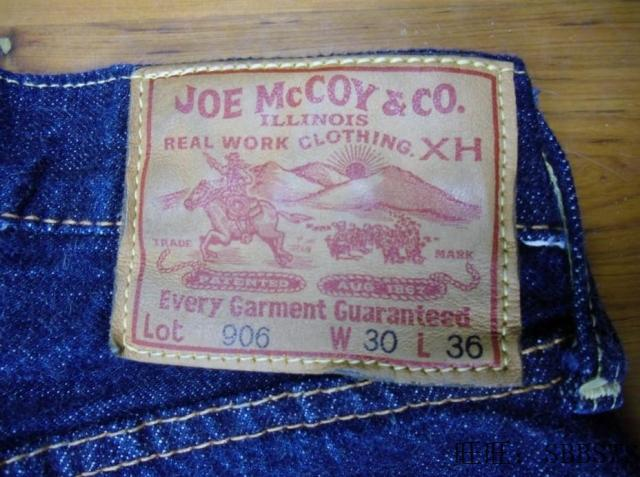 Джинсы мужские Joe mccoy 906 Warehouse DENIME SUGARCANE EVISU