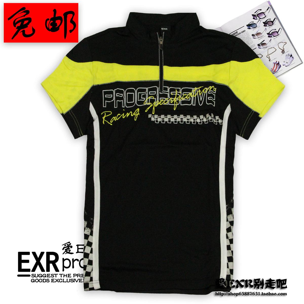 Спортивная футболка EXR 937a 2012 937 Стандартный Воротник-стойка Полиэстер Спорт и отдых Воздухопроницаемые, Защита от UV, Ультралегкий, Быстросохнущие, Влагопоглощающая функция Дизайн, С надписями, С логотипом бренда