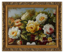 O holy ou still have frame decorate wall hang a picture to the classical pure hand-painted oil painting g24i flowers sitting room porch