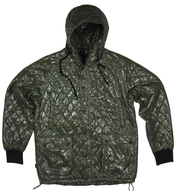 Куртка Addict 8167 Шёлковое волокно Пуговицы в 1 ряд Средней длины (до середины бедра и ниже) Свободный покрой (окружность талии > окружности груди)
