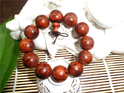 Authentic Vietnamese pear pear old material beads bracelets handmade rosary men bracelet high-density 2.0