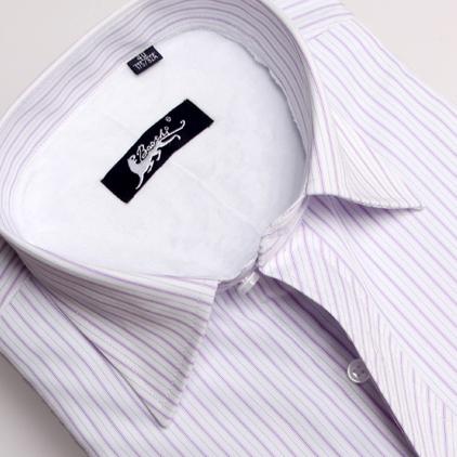 Рубашка мужская Youngor Зимняя 2012 Ткань с цветными полосками Квадратный воротник Длинные рукава ( рукава > 57см )