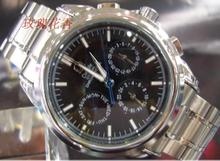 Six-pin multi-black automatic mechanical watches never wear casual male form