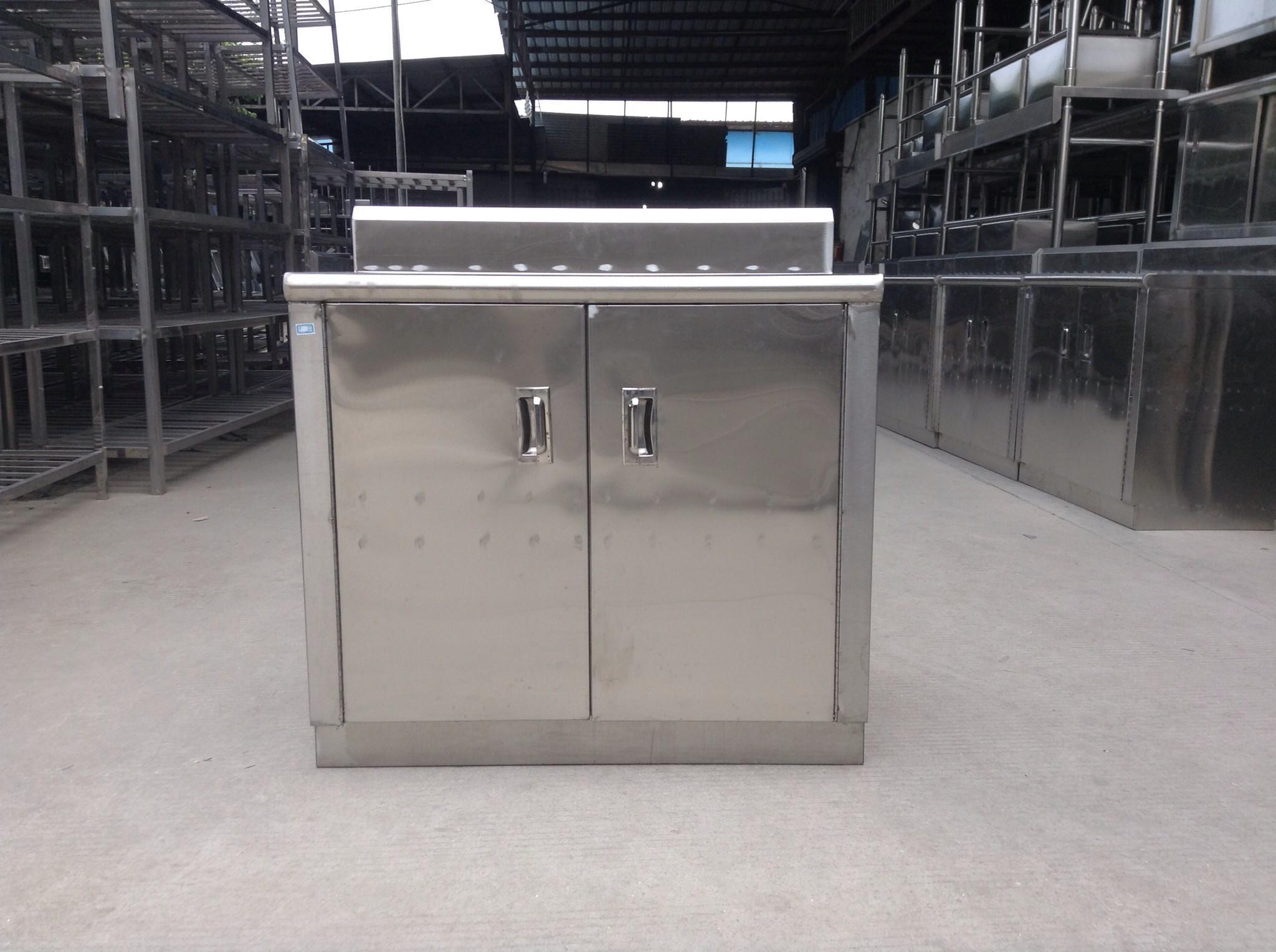不鏽鋼櫃簡易櫥櫃不鏽鋼廚櫃廚房櫃碗櫃灶台櫃儲物櫃小柜子餐邊