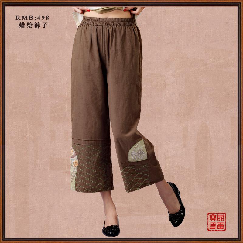 Национальные китайские брюки Product Tang Zhai 18147