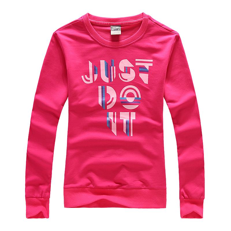 Толстовка женская Nike 8238 2012 Манжеты С надписями