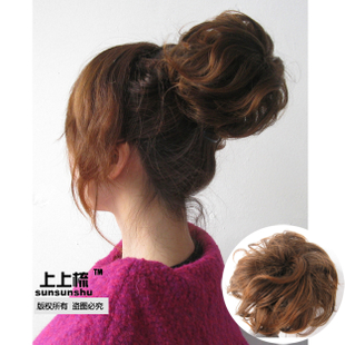 Micro-volume fluffy oversized balls of combing wigs wig-Bag Sling, baotou volume contract