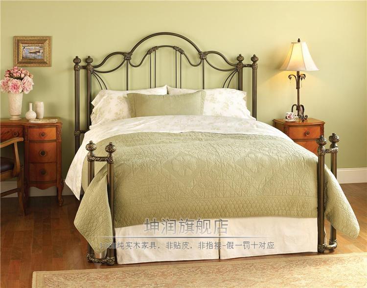 欧式床 美式床 铁艺床