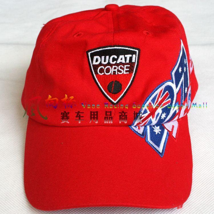 Кепка Новый вентилятор Ducati Cap/шляпа гоночный мотоцикла/автомобиля/мотоцикла dkm02 Красная шапочка