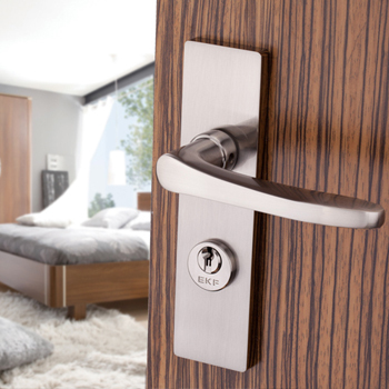 Germany modern interior door lock lever handle ekf bedroom for Door lock germany